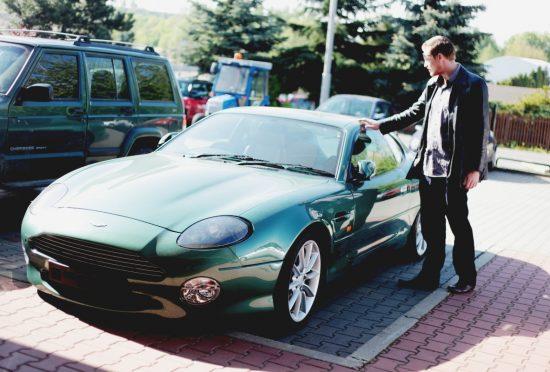 Aston Martin DB7 Vantage Prototype DP005 1998 - 4