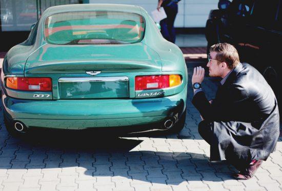 Aston Martin DB7 Vantage Prototype DP005 1998 - 10