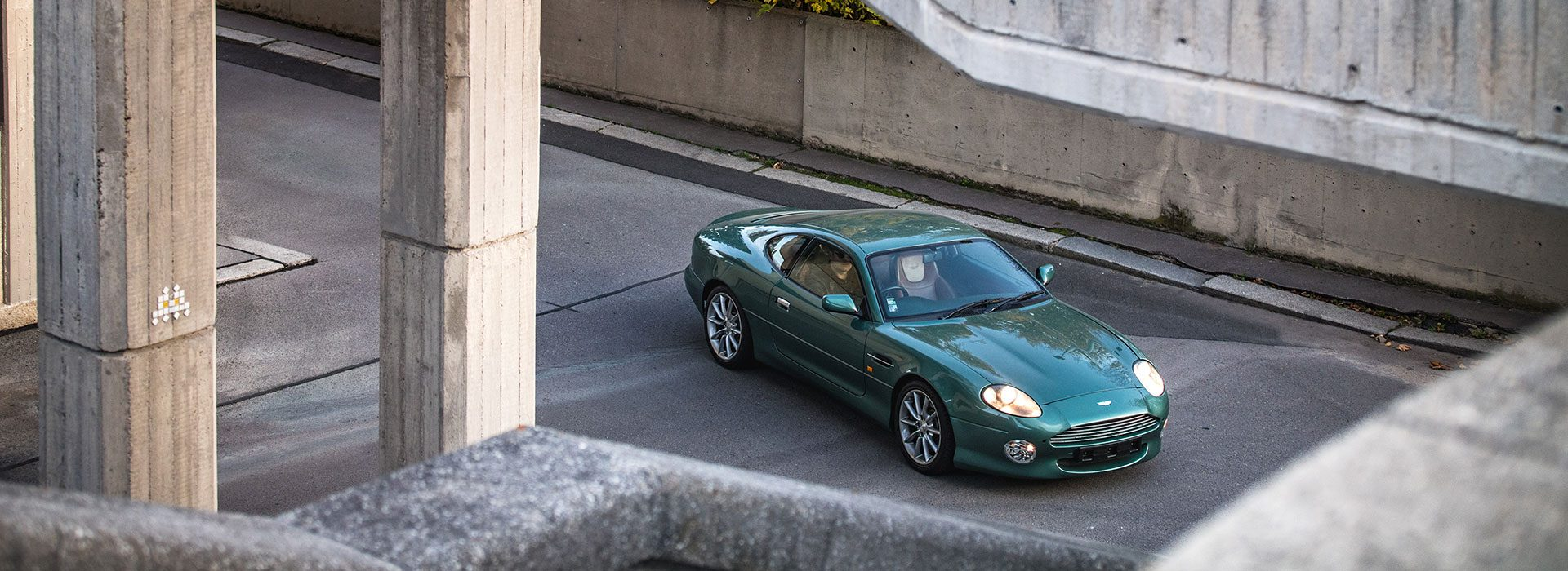 Aston Martin DB7 Vantage Prototype DP005 1998