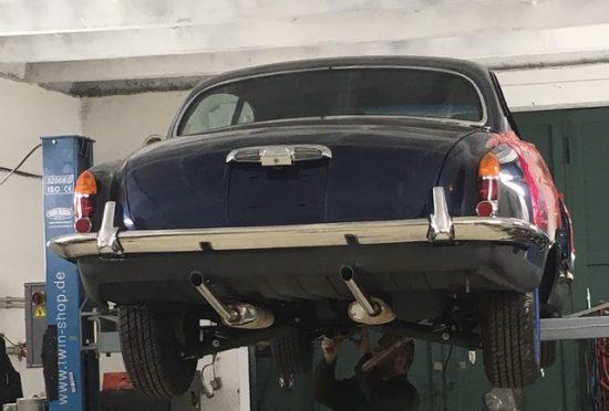 Jaguar 420G 1968 - 12