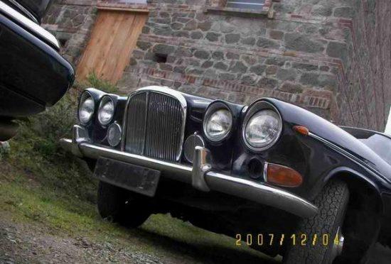 Jaguar 420G 1968 RHD