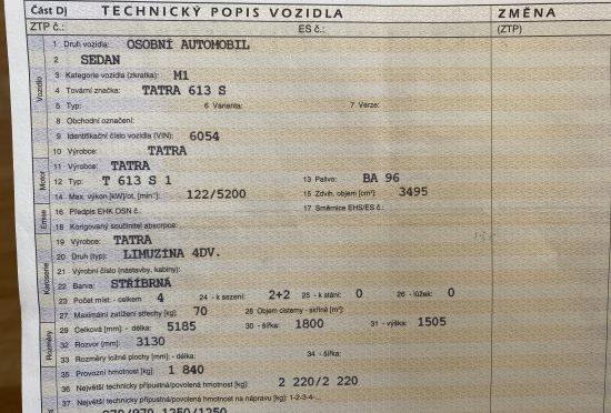 Tatra 613 Special REZERVOVÁNO - 13