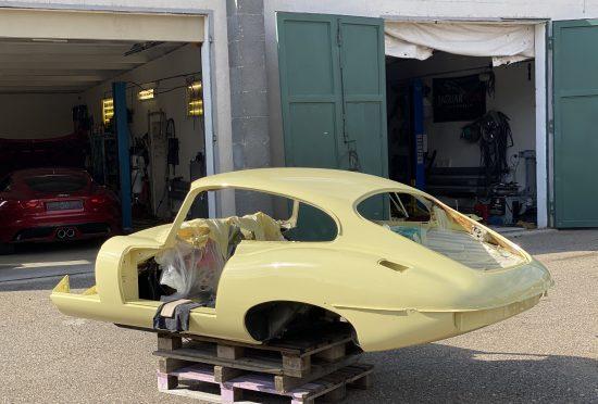 Jaguar E-Type S2 4.2l FHC