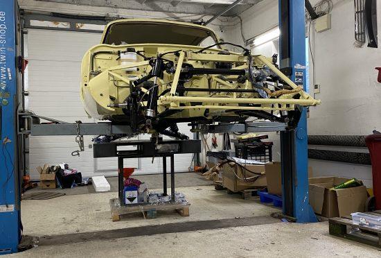 Jaguar E-Type S2 4.2l FHC RENOVACE - 7