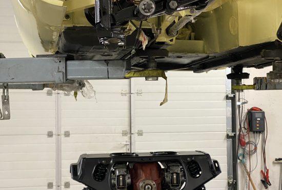 Jaguar E-Type S2 4.2l FHC RENOVACE - 9