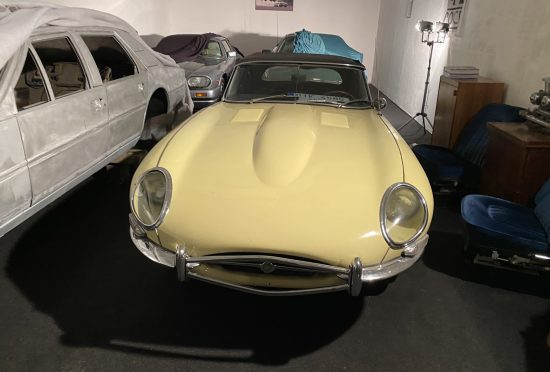 Jaguar E-Type 3.8 Roadster 1962
