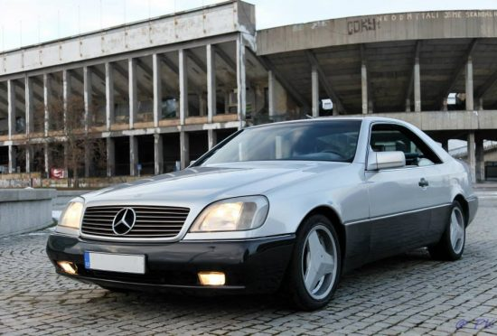 Mercedes-Benz S500 Coupé REZERVOVÁNO